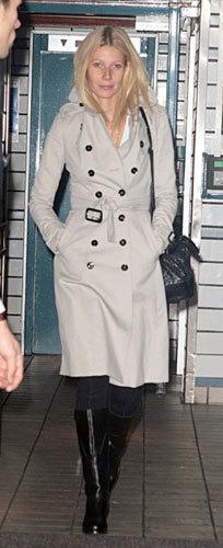 Foto de Gwyneth Paltrow, fan de Burberry (3/5)
