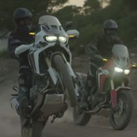 Honda CRF1000L Africa Twin, fotos reales sin camuflaje