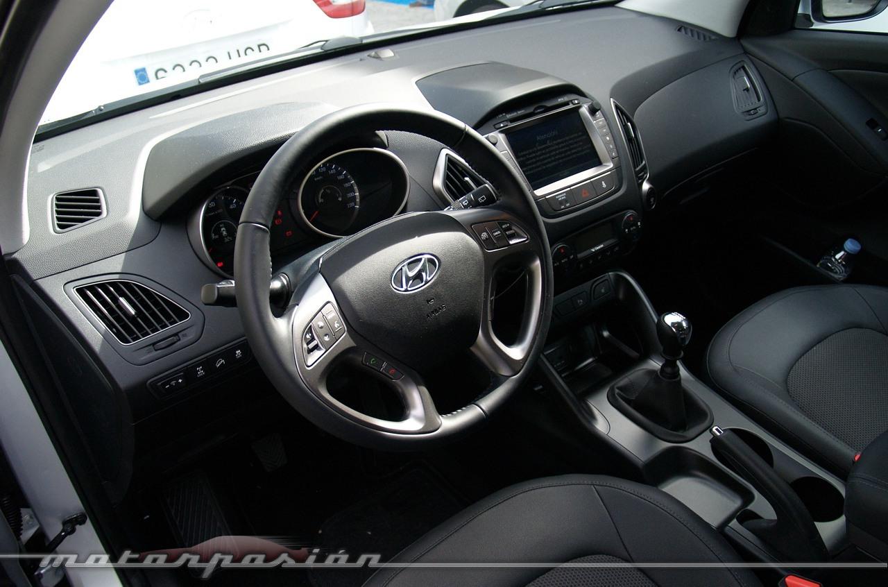 Foto de Hyundai ix35  (miniprueba en Madrid) (17/23)