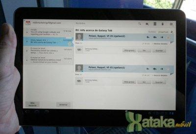 Orange lanza en España el Samsung Galaxy Tab 10.1