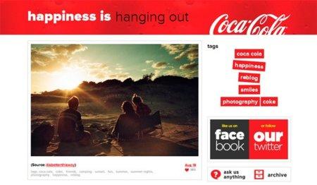 Así son las marcas en Tumblr: Coca-Cola