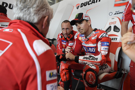 """Jorge Lorenzo con ganas de probar el nuevo carenado en Brno: """"sigo apuntando hacia la victoria"""""""