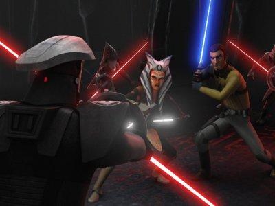 'Star Wars Rebels' coquetea con el Lado Oscuro en el final de su segunda temporada