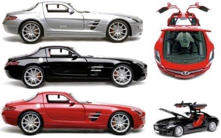 Un Mercedes SLS en como disco duro para tu escritorio