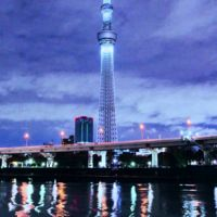 Time lapse de la Tokyo Sky Tree