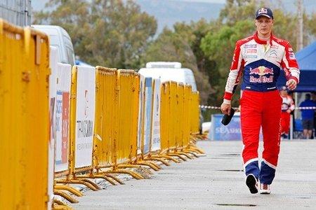 Mikko Hirvonen escapó de un fuerte accidente durante unos test