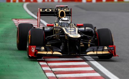 Kimi Raikkonen Canada 2012 Lotus