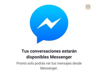 Facebook cerrará el chat de su web móvil, ya está forzando a usar la aplicación Messenger