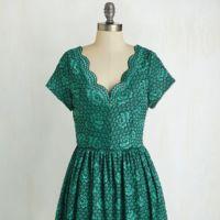 Vestido Retro Verde