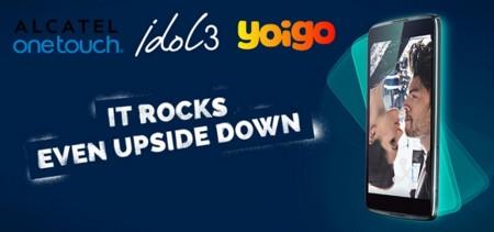 """Idol 3, el smartphone reversible de Alcatel, ya está disponible con Yoigo en su versión de 5.5"""""""