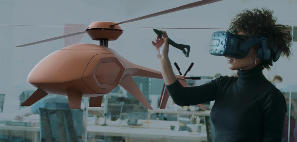 Este stylus de Logitech permite diseñar y crear objetos 3D en realidad virtual