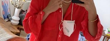 Cadenas y cordones (como los de las gafas) para sujetar la mascarilla cuando no la usas: la opinión de los expertos