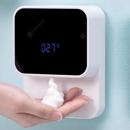 Dispensador de jabón automático con pantalla en México