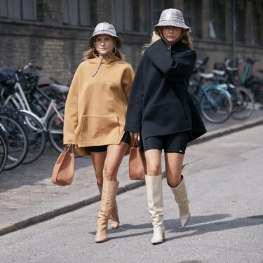 Cómo combinar un vestido sudadera: los zapatos, el bolso o los accesorios cobrarán mucha importancia