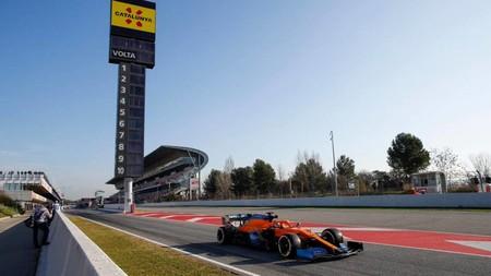 Sainz Montmelo F1 2020