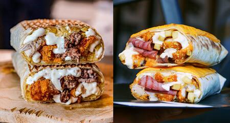 Tacos franceses: el híbrido entre panini, kebab y burrito es la estrella emergente de la comida rápida