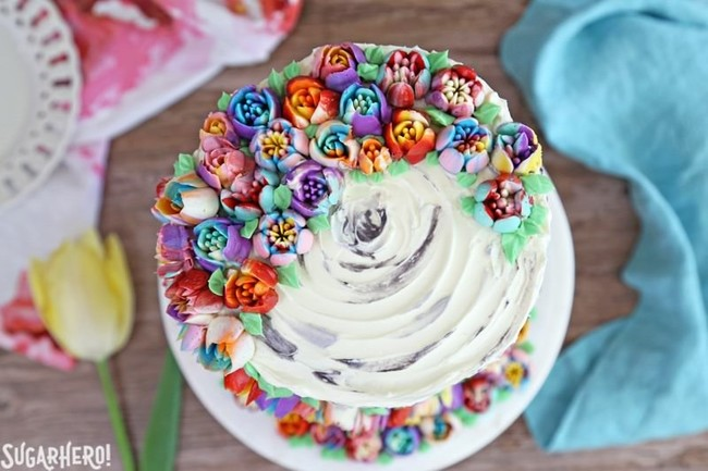 Spring In Bloom Layer Cake 11