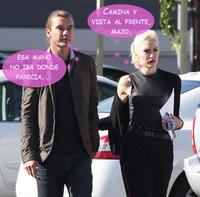 Gwen Stefani está a un paso de convertirse en un tópico: ¿marido y niñera?