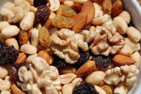 Los frutos secos en la alimentación infantil