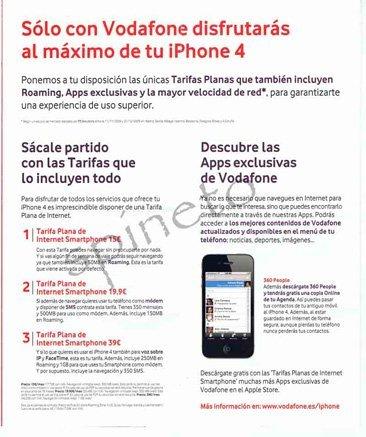 Vodafone tarifa