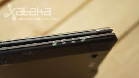 Sony Vaio Duo 11 análisis LEDS