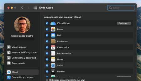macos mac apple preferencias del sistema icloud
