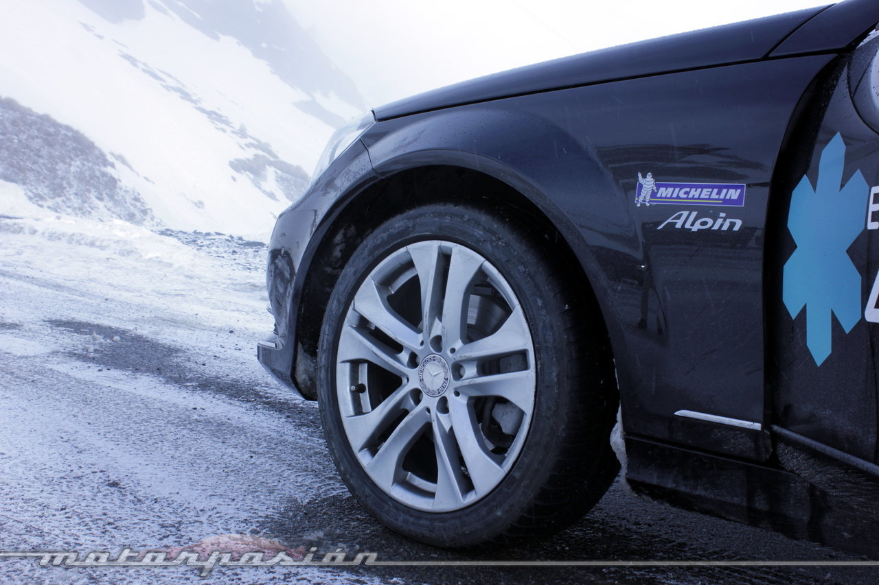 Foto de Michelin Pilot Alpin y Michelin Latitude Alpin, Experiencia 4Matic (27/27)
