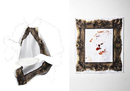 Frame napkin, el arte de ensuciarse comiendo