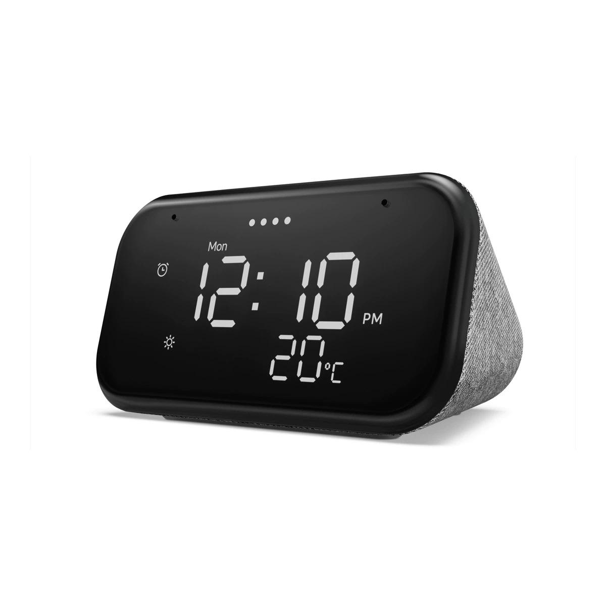 Reloj inteligente Lenovo Smart Clock Essential Gris con Asistente de Google