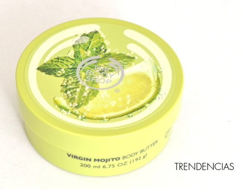 ¿Te apetece un cóctel refrescante?: probamos la manteca corporal 'Virgin Mojito' de The Body Shop