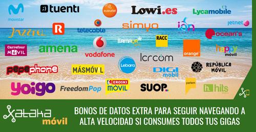 Nunca sin datos: todos los bonos de datos extra disponibles en tu operador