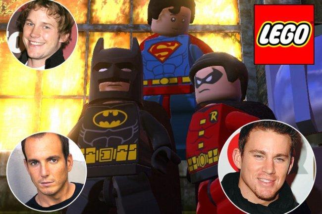 Pratt, Arnett y Tatum, tres de los actores que participarán en la película de Lego