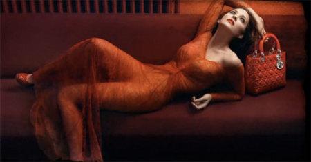 Marion Cotillard para Dior Lady Rouge