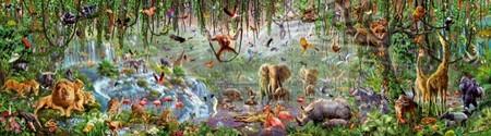 El reto de Educa con las 33.600 piezas del puzzle de Vida salvaje