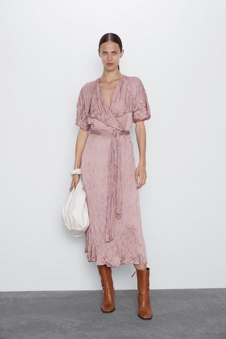 Vestidos Arrugados Zara 7