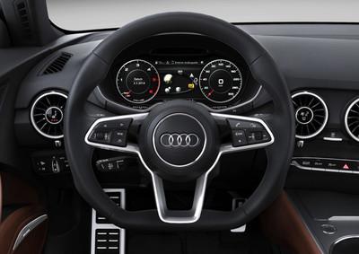 En 2015 habrá cuatro modelos con el Audi Virtual Cockpit