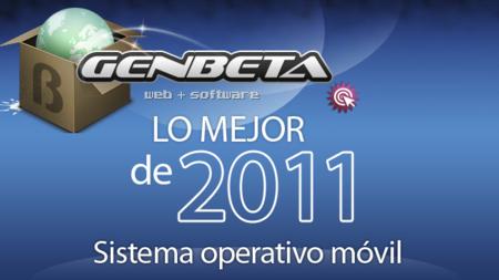 Mejor sistema operativo móvil de 2011: las votaciones