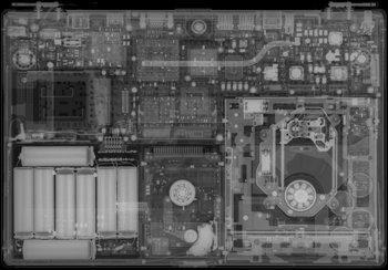 Rayos-X sobre un Powerbook