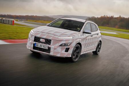 Hyundai KONA N, el primer SUV deportivo de la familia nos revela nuevos detalles