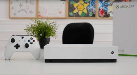 Xbox One S All-Digital: este podría ser el nombre y el aspecto de la Xbox pensada para el mundo digital: