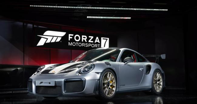 El nuevo Porsche GT2 RS se desvela para Forza 7