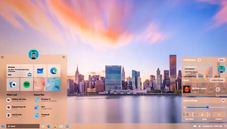 Windows 11: un diseño conceptual de Windows creado usando PowerPoint