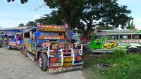 Transporte público asiático. Filipinas: jeepney