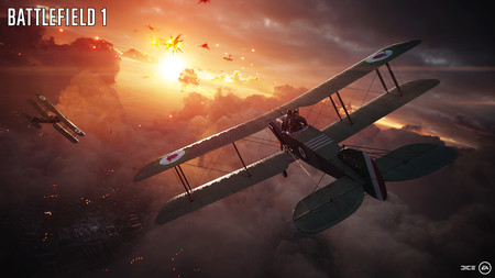 Battlefield 1 Avion