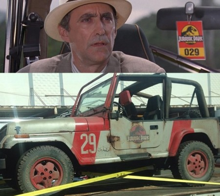 Jurassic World y Jurassic Park, jeep 29