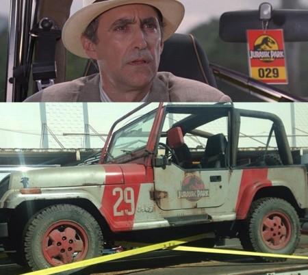 Jurassic World y Jurassic Park, jeep 29