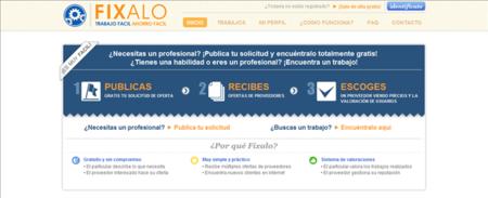 Fixalo.es, pide presupuestos y proveedores para hacer un trabajo