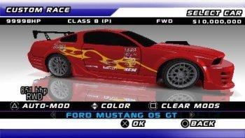 Versión de Juiced para la PSP