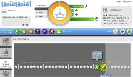 HeiaHeia, un sitio social para monitorizar tu entrenamiento