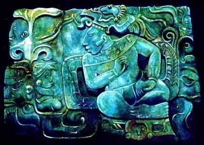 pectoral de jade mexico